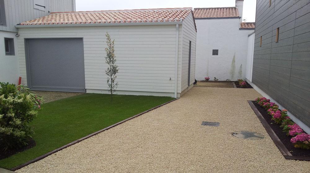 Vert jardin - Dallage